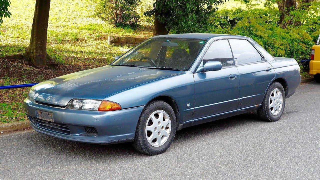 1992 Nissan Skyline Auto Non-turbo 4-door (USA Import) Japan Auction ...