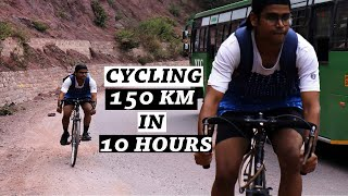 CYCLING CHANDIGARH TO SHIMLA IN 10 HOURS ON A MOUNTAIN BICYCLE |BUCKET LIST VIDEO|