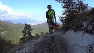 Обучение катанию в горах. Тренировка #1, торможение.