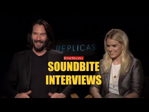 Replicas Movie Interviews With Keanu Reeves, Alice Eve And John Ortiz