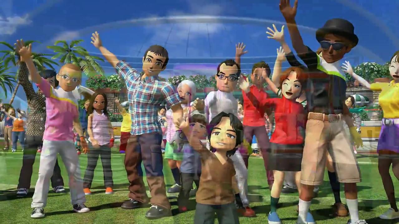 PS4《新・全民高爾夫》遊戲影像