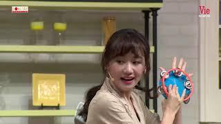 """Teaser Khi Chàng Vào Bếp tập 17  Hết ham ăn, Hari Won tiếp tục """"phá hoại tài sản"""" chương trình"""