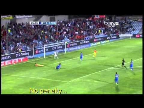 Higuain and Di Maria Ultimate Fight (vs Sevilla) and 2 penalties not given to Barca (vs Getafe)
