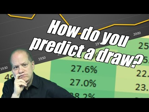 Peter Webb, Bet Angel - How do you predict a draw?