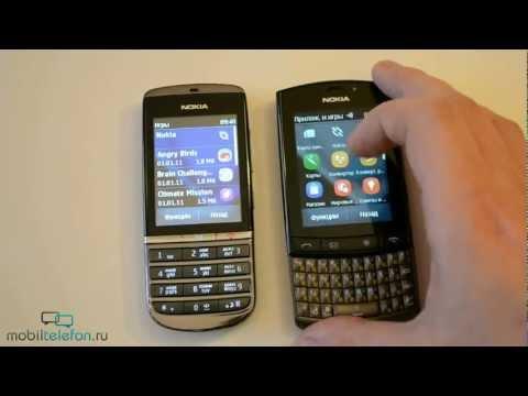 Обзор Nokia Asha 300 и Nokia Asha 303, сравнение (review)