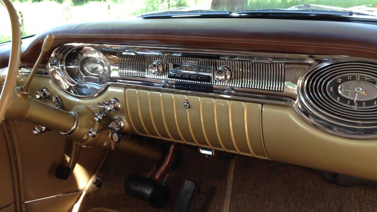 1956 Oldsmobile 98 Dashboard Youtube