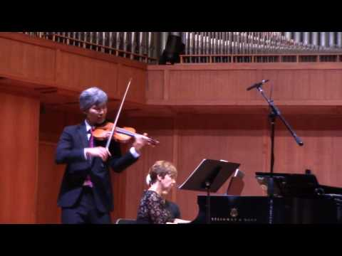 "Ken Aiso: Beethoven ""Sonata No.1 in D Major For Violin & Piano"""