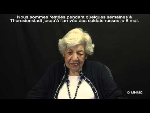 Holocaust Survivor Ernestina Neumann Brauner - Hope & Fear After Liberation