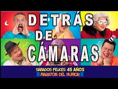 ???? Detrás de Cámaras SÁBADOS FELICES, recuerdo maratón de Humor 45 años - Caracol Televisión