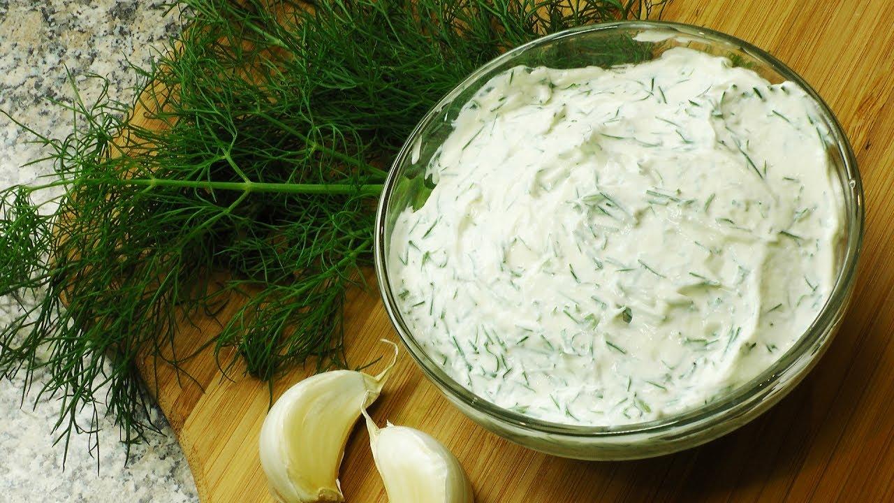 как приготовить вкусный сметанно сырный соус