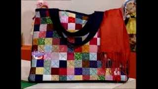 Carolina Rizzi  - Bienvenidas TV - Crea un bolso multicolor en patchwork.