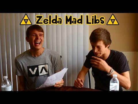 Zelda Mad Libs