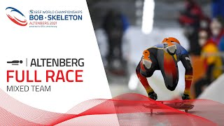Altenberg | BMW IBSF World Championships 2021 - Mixed Skeleton Team | IBSF Official