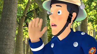 Fireman Sam US 🚒Elvis Lost in the Forest | Best Moments | Fire Rescue 🔥 Kids Movie