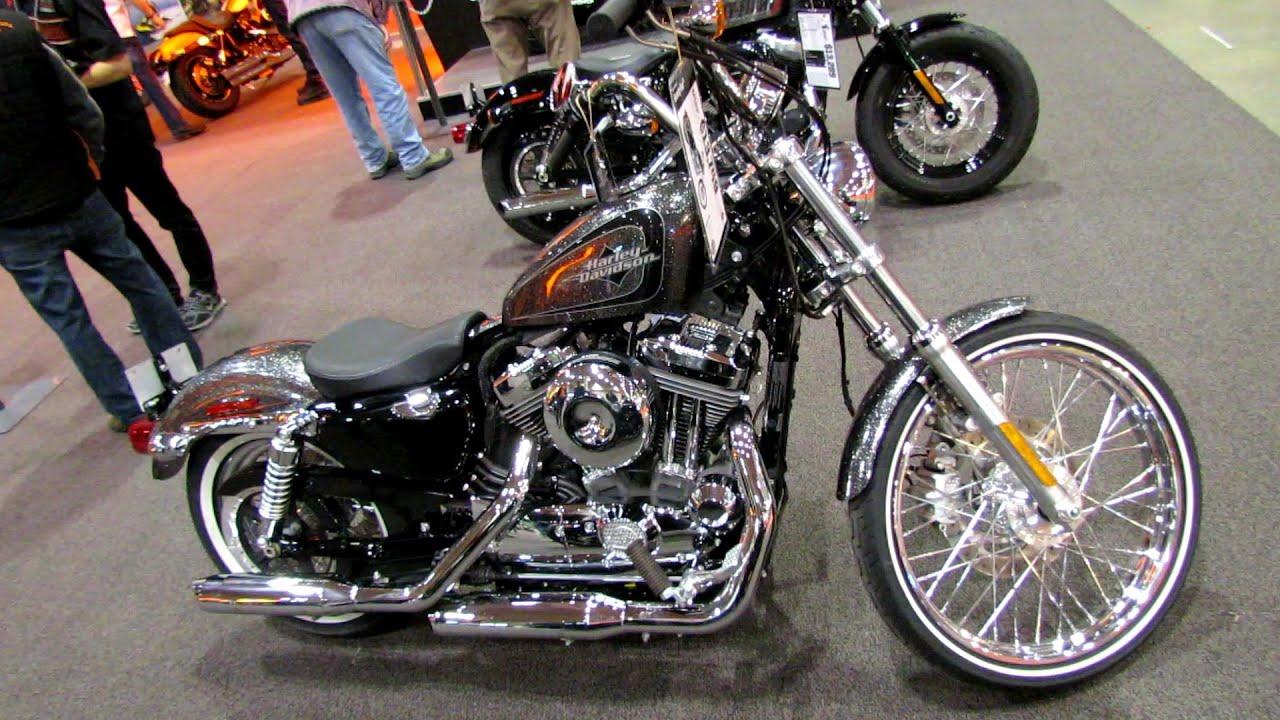 2014 Harley Davidson Sportster Seventy Two Walkaround