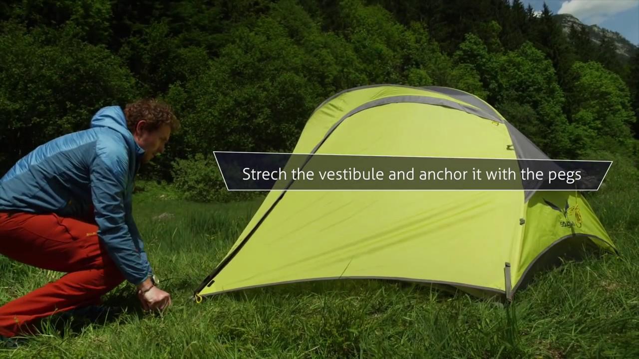 super popular acc37 fa490 Vertimania SALEWA Micra II Tent