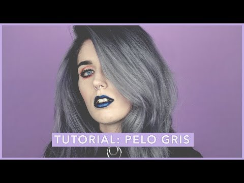 Thumbnail: Como conseguir el pelo gris en casa | Tutorial | How to get grey hair