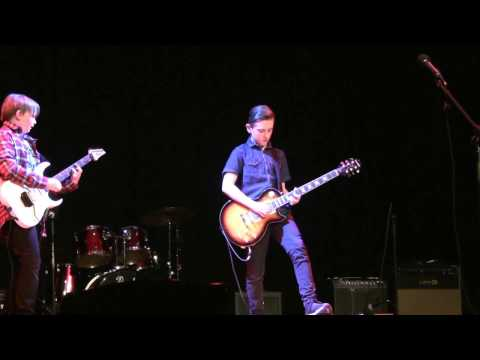 Back in Black (Michael Cary and Eliot Whitehouse) - RGS talent show Nov 2016