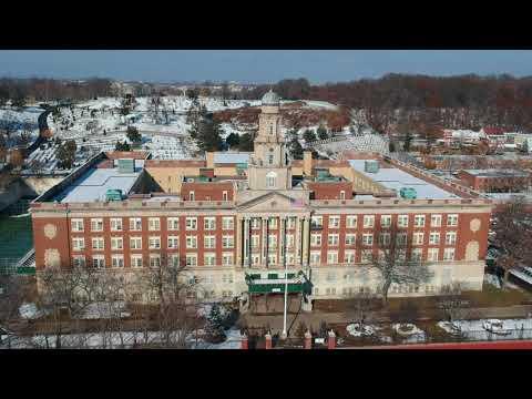 Dji Spark Brooklyn Flyover to Franklin K. Lane Highschool