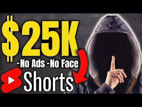 Make Money Using Youtube Shorts Without Making Videos   Youtube Shorts Monetization Tutorial