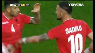 Обзор матча Украина - Албания Товарищеский матч