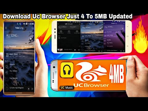 🔵HOW TO GET UC BROWSER UC MUSIC APP ❔ IN YOU ANDROID 😱 BY ANDRO450KING🔥