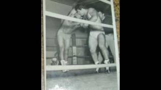 "Wrestling the....old days.....My Dad ""George Trikilis"""