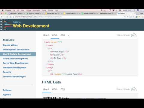 00310 Intro To Html, Css, And Grid Systems