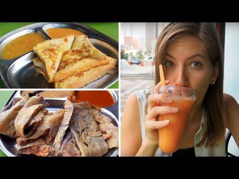Breakfast in Malaysia   Eating Roti in Kuala Lumpur