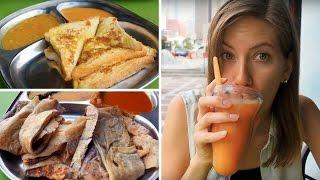 Breakfast in Malaysia | Eating Roti in Kuala Lumpur