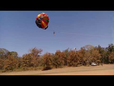Parasailing in Pachmarhi - Adventure Sports Tourism in MP