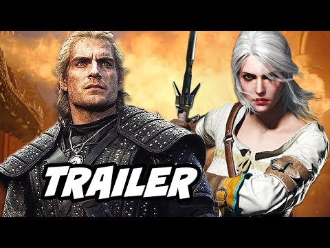 The Witcher Trailer - Netflix Easter Eggs and Episodes Breakdown