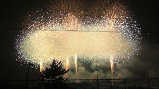 【超高画質!超眼の前!】教祖祭PL花火芸術2018【FULL】:Guru Festival PL fireworks art 2018 Full Version