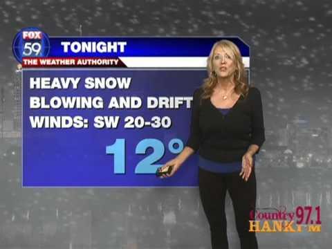 Cheri's Chores: Weather Forecasting at Fox 59