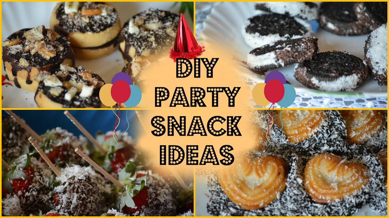 DIY New Years Party Snack Ideas