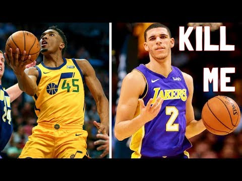 Meet Lonzo Ball's WORST NIGHTMARE: Donovan Mitchell is STEPH CURRY AND KOBE COMBINED.