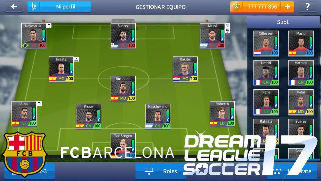 Plantilla Del FC Barcelona Al 100% + Nuevos Uniformes Para