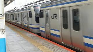 E217系横クラY-127+Y-35横浜発車
