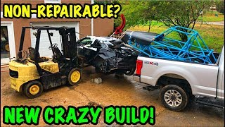 Download Turning A Salvage Car Into A Street Legal Race Car!!! Mp3 and Videos