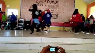 SMANTIG PROJECT (TEEN ) KPOP DANCE at Reuni Basar SMPP - SMAN 3 GORONTALO (30 januari 2016)