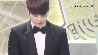 Fancam Kim Woo Bin Cute Moments SBS Drama Awards 2013