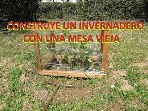 Construye un invernadero la manera m s f cil paso a - Como hacer un invernadero pequeno ...