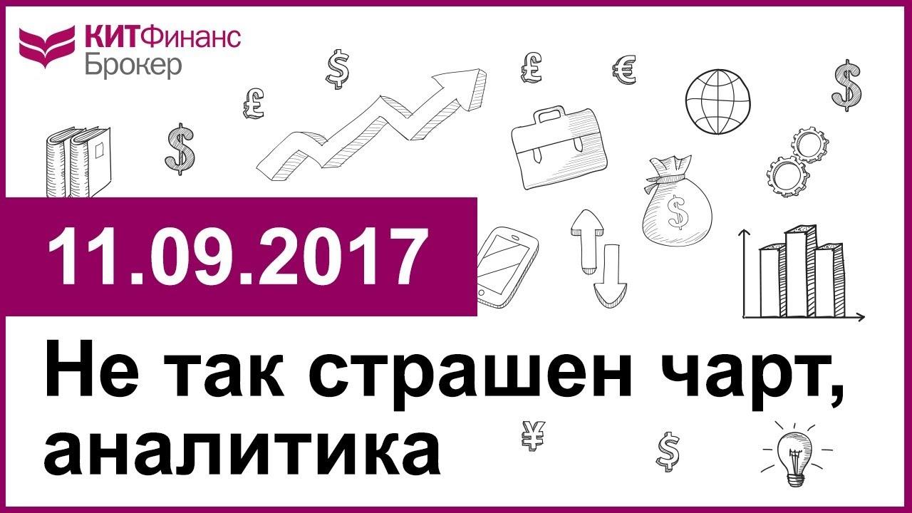 Не так страшен чарт, аналитика - 11.09.2017; 16:00 (мск)