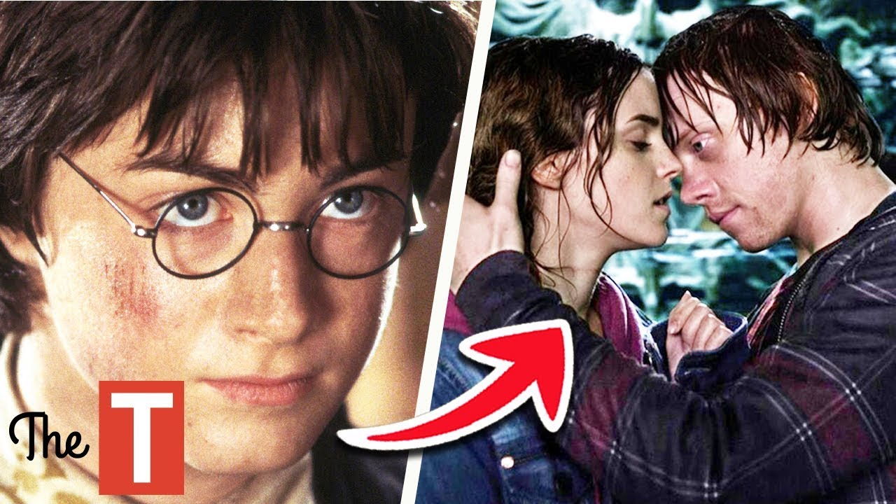 The Evolution Of Hermione From The Harry Potter Books To Movies Youtube