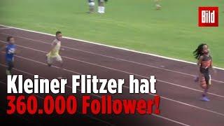 Ist dieser Siebenjährige der schnellste Junge der Welt? | Rudolph Blaze