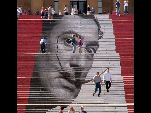 Most Beautiful Murals That Are Painted On Staircases HD 2014