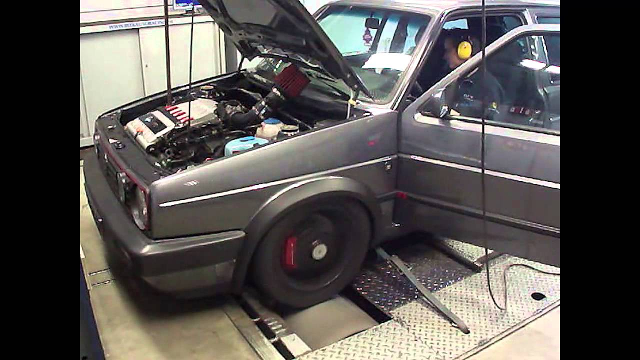 vw golf mk ii with r32 engine dyno run at beek auto. Black Bedroom Furniture Sets. Home Design Ideas