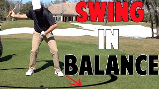 How to Swing in Balance in Golf