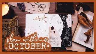 PLAN WITH ME | October 2019 Bullet Journal Set Up