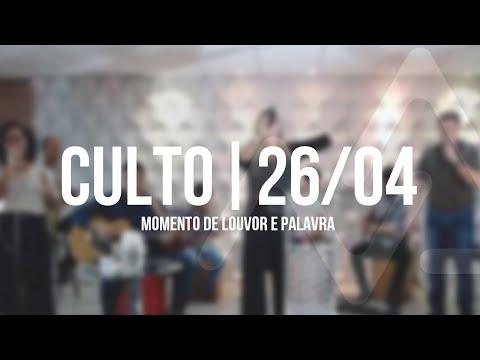 Culto De Domingo   26/04